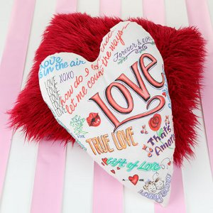 Sweet Sentiments Pillow