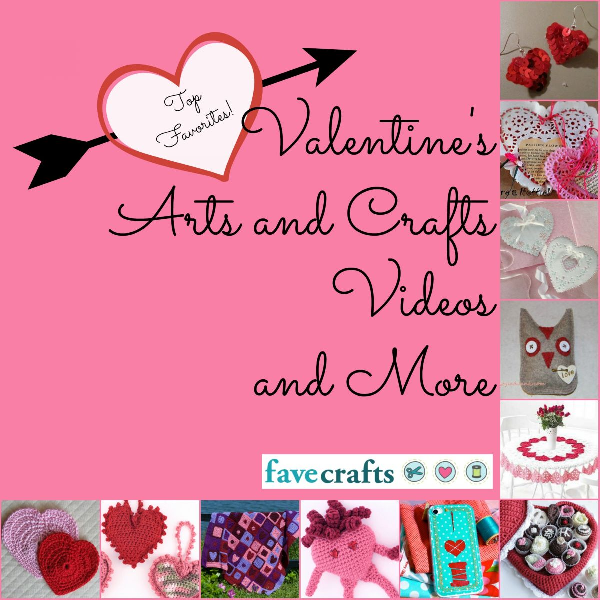 Top 15 favorite valentine 39 s arts and crafts videos and for Crafts for valentines day ideas