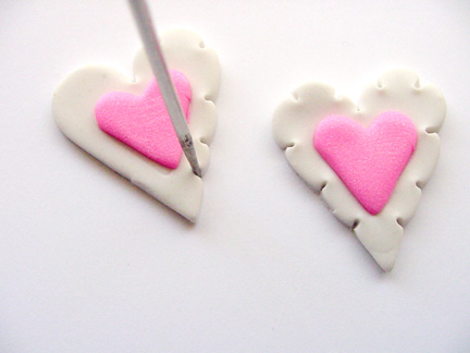Valentine's Day Clay Hearts Step 4