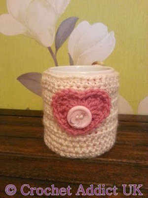 Valentine's Day Mug Cozy