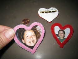 Easy Valentine Photo Pin