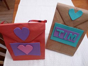 Valentine's Day Lunch Bags