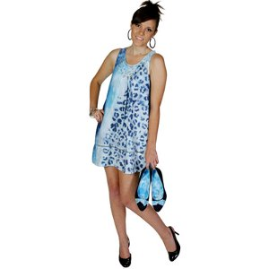 Animal Print Tie Dye Dress and Shoes