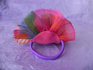 Fabric Flower Hairbands