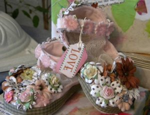 Decorated Baby Shoes