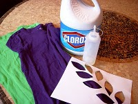 Bleach Stencil Supplies
