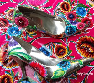 Pretty Painted Pumps