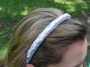 tee shirt head band