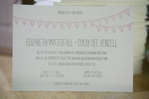 Handmade Letterpress Wedding Invitations