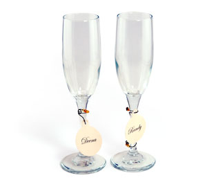 Stemware Drink Charms