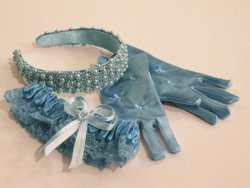 Dyed Wedding Accessories