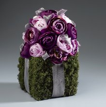 Purple Posies Arrangement