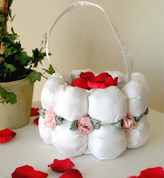 Sweetheart Flower Girl Basket