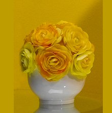 Yellow Rose Centerpiece