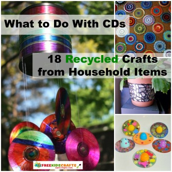 What to Do With CDs: 18 Recycled Crafts from Household Items