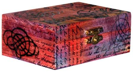 woodburned decorative box - Decorative Box