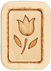 Easy Woodburned Tulip Plaque Favecrafts Com