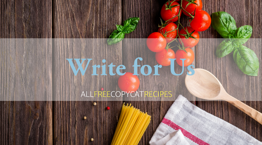 Write for AllFreeCopycatRecipes