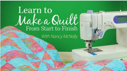 Learn to Make a Quilt From Start to Finish | FaveQuilts.com : online quilt classes - Adamdwight.com