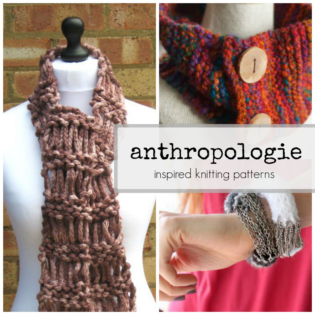 DIY Fashion Projects: 36 Easy Knitting Projects Inspired ...
