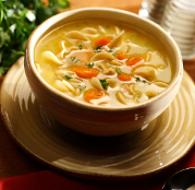 Lazy Slow Cooker Chicken Noodle Soup