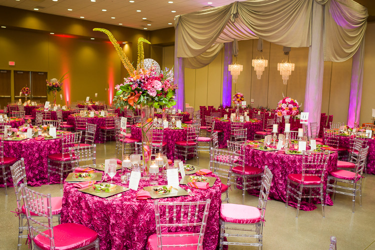 Bold And Beautiful Hot Pink Wedding