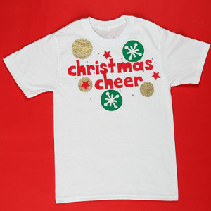 Painted Christmas Cheer Shirt