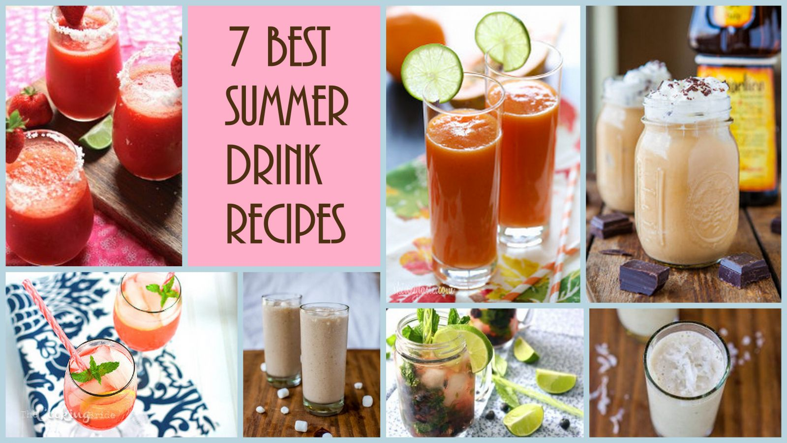 7 best summer drink recipes for 7 and 7 drink recipe