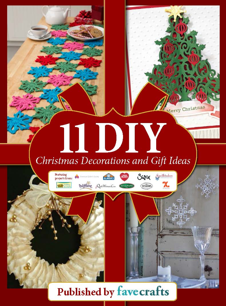 holiday craft gift ideas quot 11 diy decorations and gift ideas quot free ebook 4674