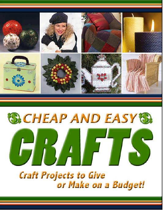 Cheap and easy crafts free ebook favecrafts check out this free cheap and easy crafts ebook for all your affordable crafting needs in this ebook you will find tips on creating quick and easy crafts fandeluxe Choice Image