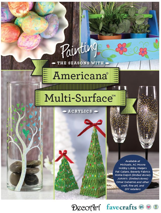 Painting the Seasons with Americana Multi-Surface Acrylics
