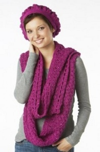 16 Free Crochet Hat Patterns, Scarves and Gloves