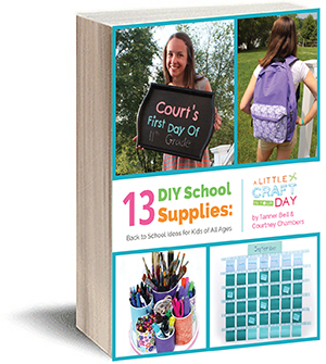 13 DIY School Supplies free eBook