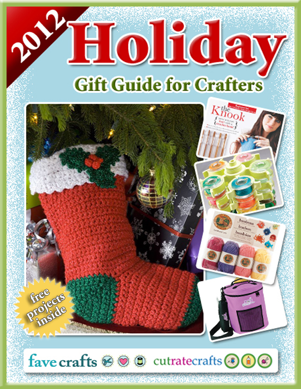 Holiday Gift Guide for Crafters free eBook