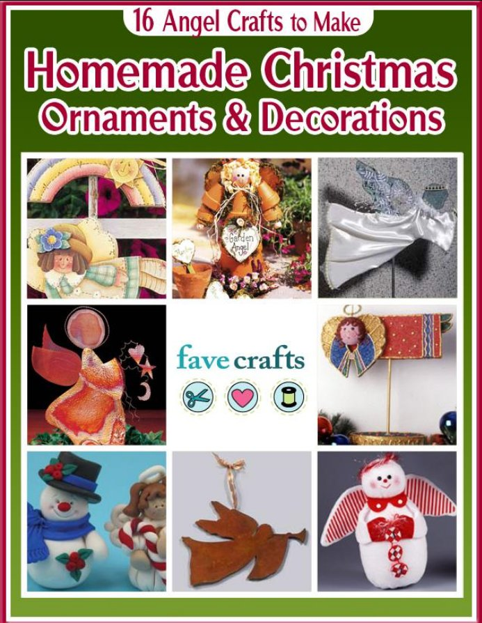 16 Homemade Christmas Ornaments and Decorations