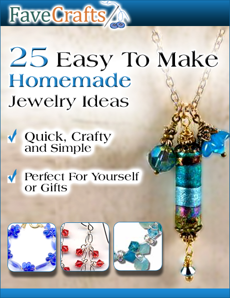 25 easy to make homemade jewelry ideas ebook favecrafts we have the step by step guide on how to make that perfect piece of jewelry with this free ebook fandeluxe Images