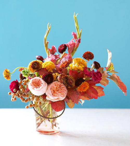 Fabulous Fall Floral Centerpiece