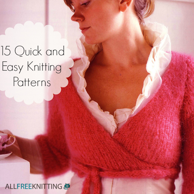 15 Quick and Easy Knitting Patterns