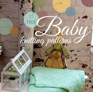22 Free Baby Knitting Patterns