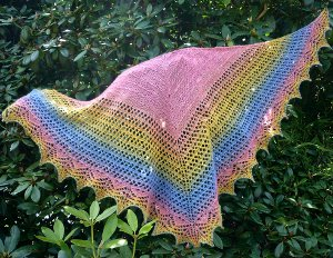 Butterfly Lace Shawl