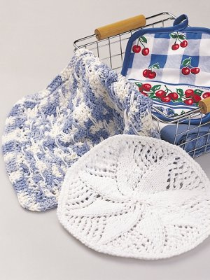 Country Charm Dishcloth