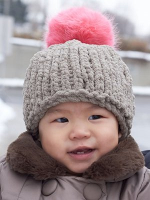Cute and Cozy Baby Hat