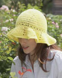 Free Crochet Patterns: Crochet Sun Hat