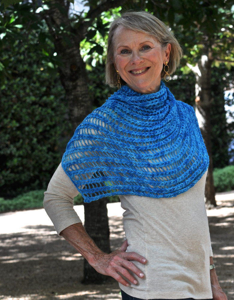 Turquois Shawlette