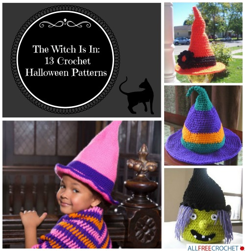 The Witch Is In 13 Crochet Halloween Patterns Allfreecrochet