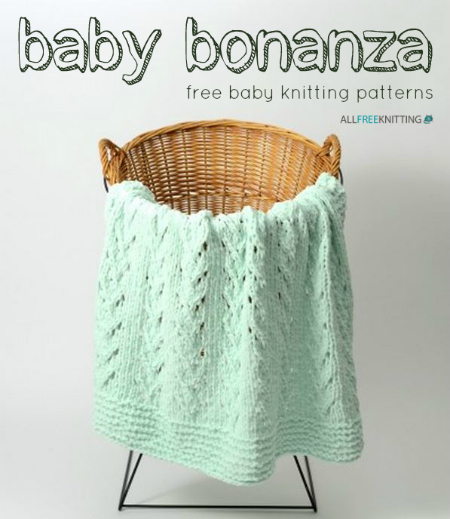 Baby Bonanza: 136 Free Baby Knitting Patterns