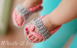 043650cacf8d9 Not Your Average Crochet Baby Booties   AllFreeCrochet.com
