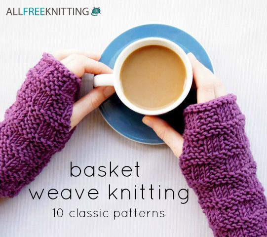Basket Weave Knitting 10 Classic Patterns Allfreeknitting