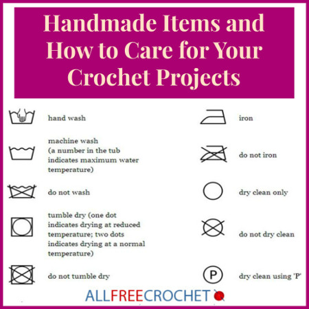 How to Care for Handmade Crochet Projects