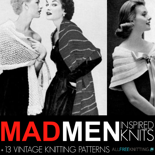Mad Men Inspired Knits